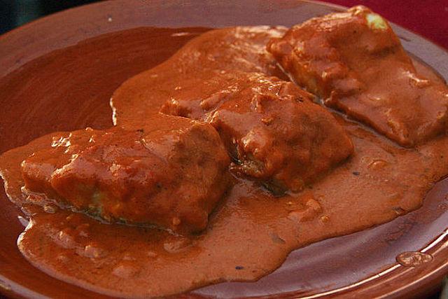 """Bacalao a la Vizcaina"" para una mesa festiva"