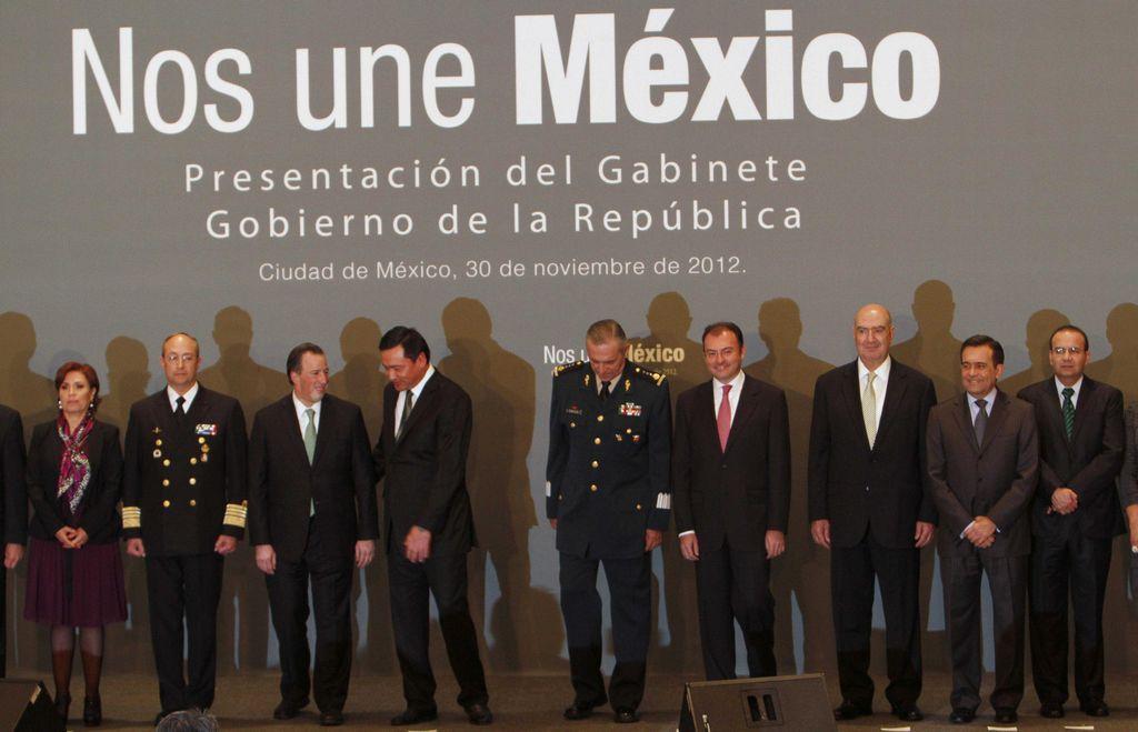 Nuevo gabinete de el gobierno mexicano.