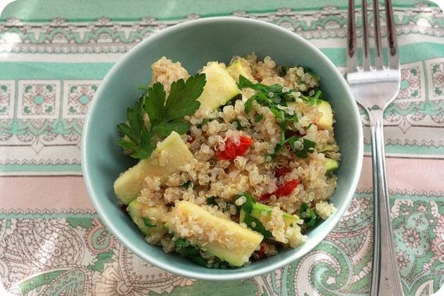 Nutrición: beneficios de la quínoa