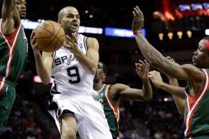 Spurs ganan a Bucks con eficacia de Parker y Neal (Fotos)