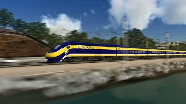 El tren de alta velocidad, un paso más cerca de hacerse realidad en California