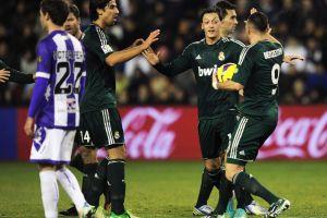 Özil se inspira y Real Madrid se impone al Valladolid (Fotos)