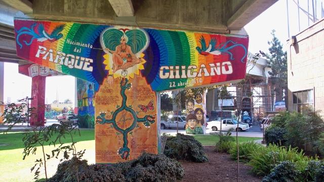 El parque Chicano, en el corazón del barrio latino de San Diego, ha sido testigo de numerosos movimientos ciudadanos.