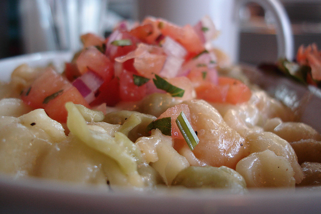Mexican style macaroni and cheese