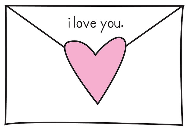 Maintaining a long distance relationship by writing letters