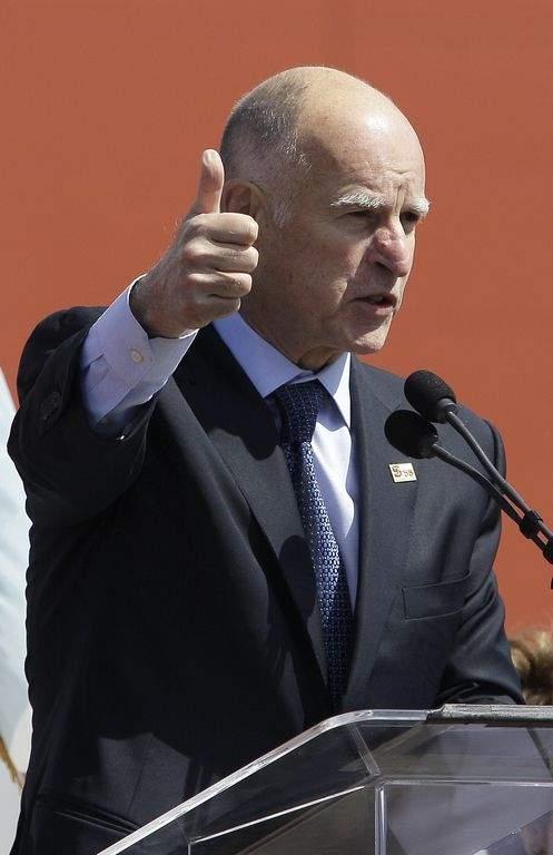 Jerry Brown, gobernador de California
