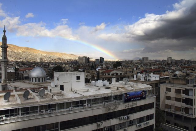 El Ministerio sirio del Interior, situado en el barrio de Kafr Susa, en el oeste de Damasco.
