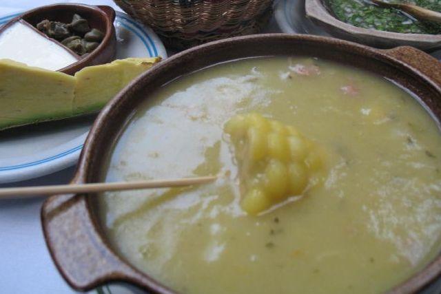 Ajiaco bogotano, versión única de una receta precolombina