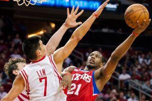 Harden encamina la victoria de los Rockets (Fotos)