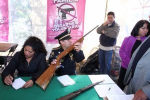 Un desarme voluntario