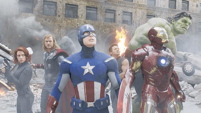 """""""The Avengers"""" y """"Batman"""" entre las más taquilleras de 2012 (Fotos y video)"""