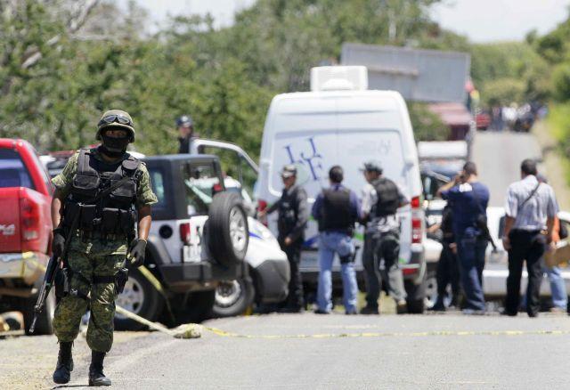 Violencia en México deja 40 muertos desde el domingo