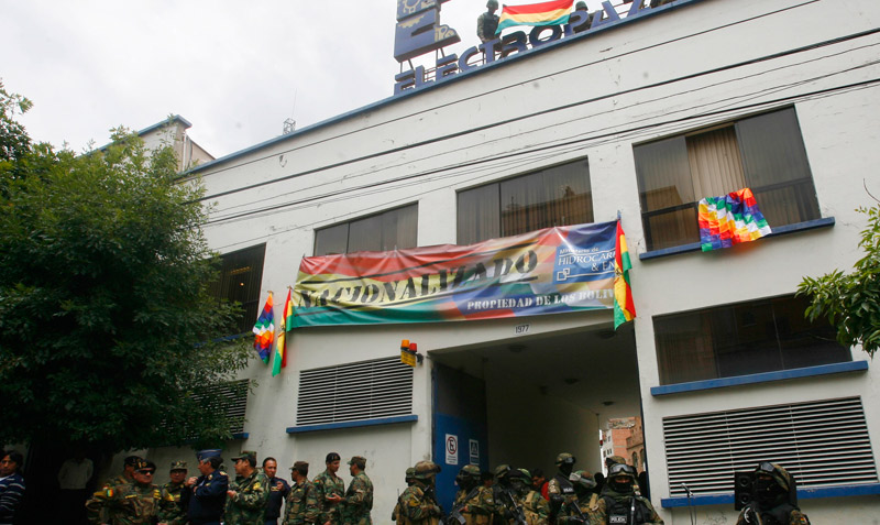 Bolivia nacionaliza distribuidoras de electricidad españolas