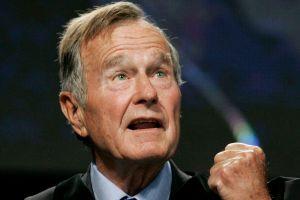 Bush padre sale de sala de cuidados intensivos