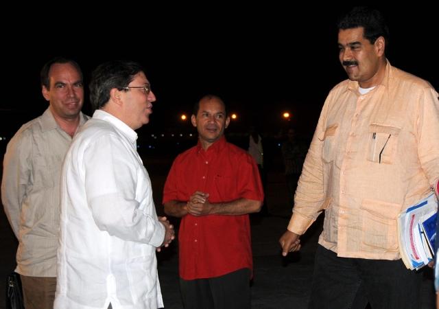 Maduro viaja a La Habana