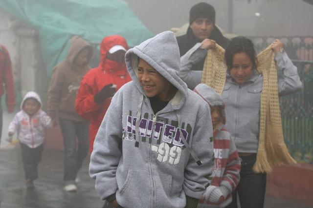 Prevén lluvias en México