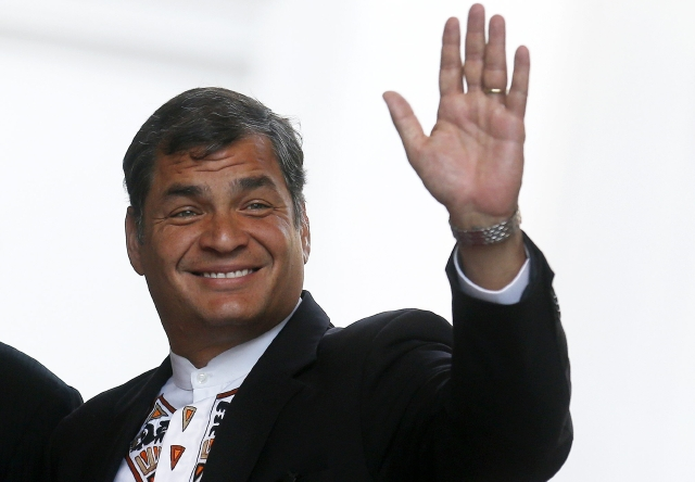 Correa hará campaña