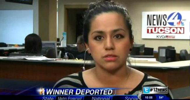 Deportan a mexicana que ganó en casino de Arizona (Video)