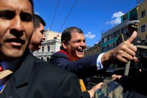 Denuncian supuesto plan de EE.UU. para desestabilizar a Correa