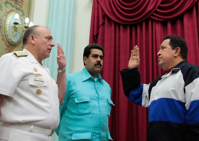 Maduro establece contactos con EEUU en medio de crisis de Chávez