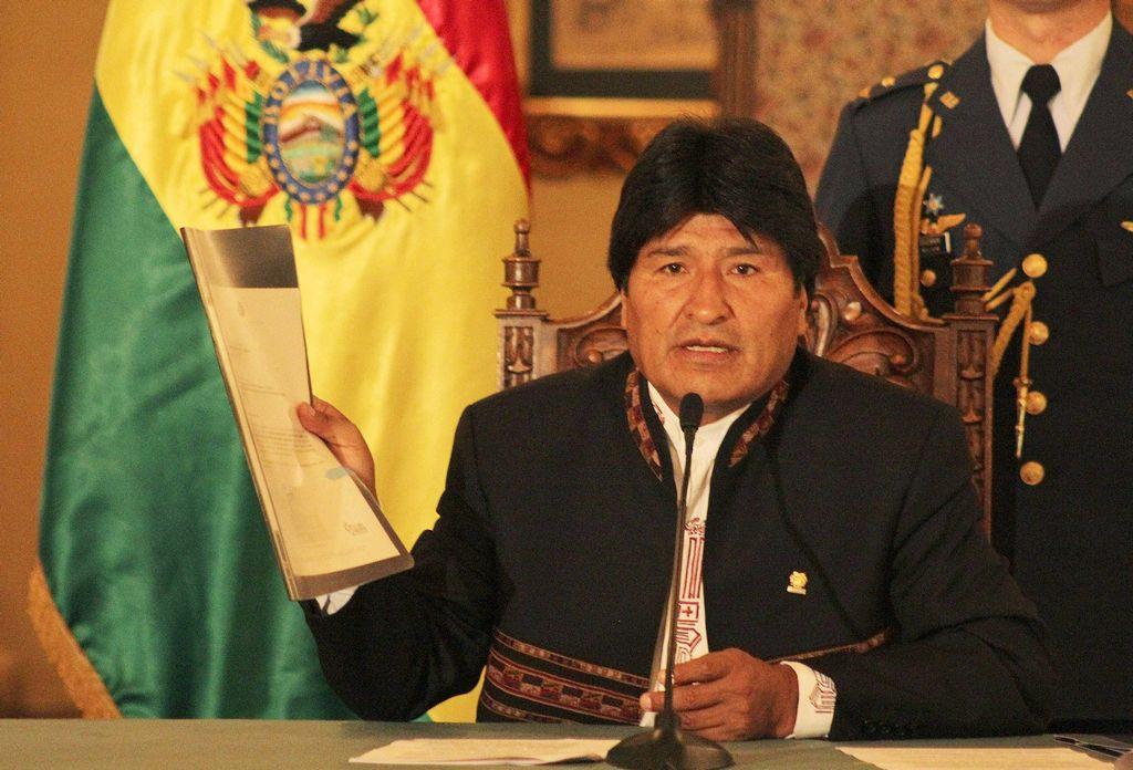 Evo Morales viajará a Venezuela para el 10 de enero