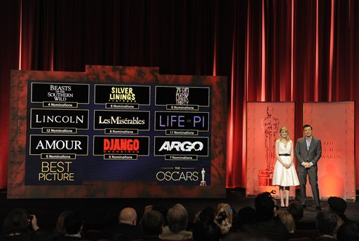 Lista completa de nominados al premio Oscar (fotos)