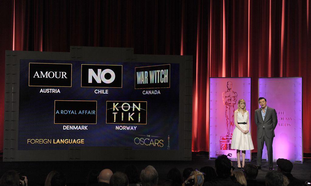'Lincoln', con 12 nominaciones lidera la carrera por el Oscar (Fotos y video)