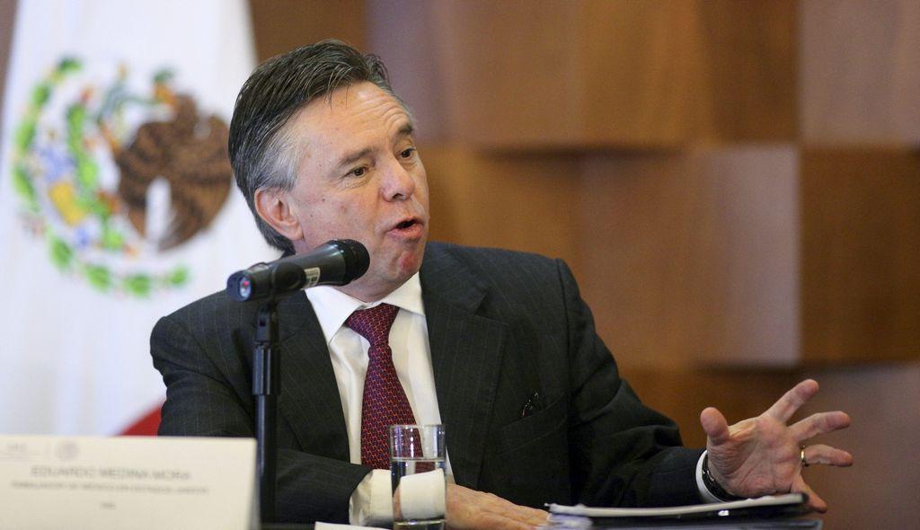 El Embajador de México en Estados Unidos, Eduardo Medina Mora, aboga por debate internacional sobre drogas.