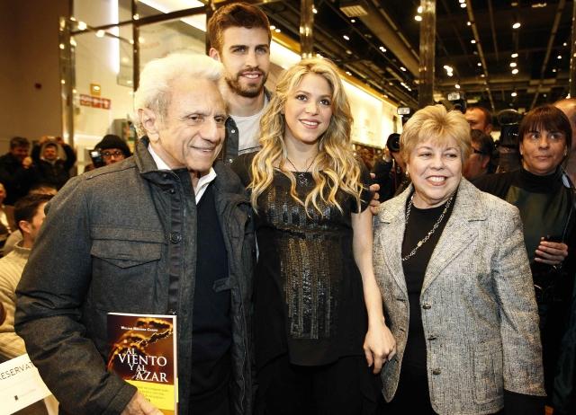 Shakira declara su pasión por su padre