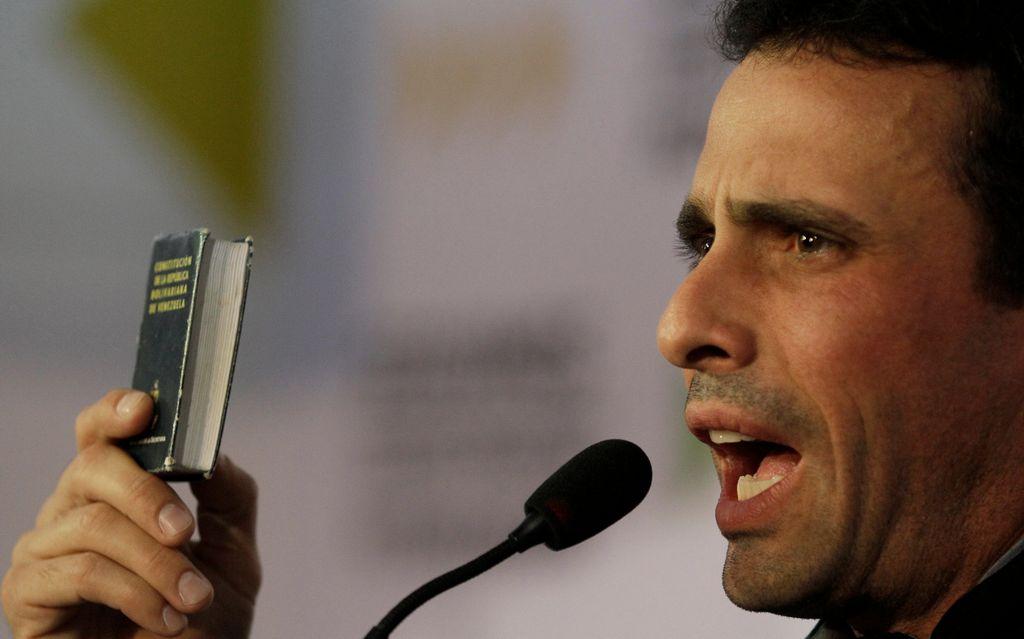 Capriles duda de procedimiento en nombramiento de canciller