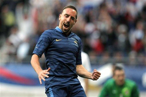 Franck Ribery, volante del Bayern Munich, es acusado de participar en lenocinio