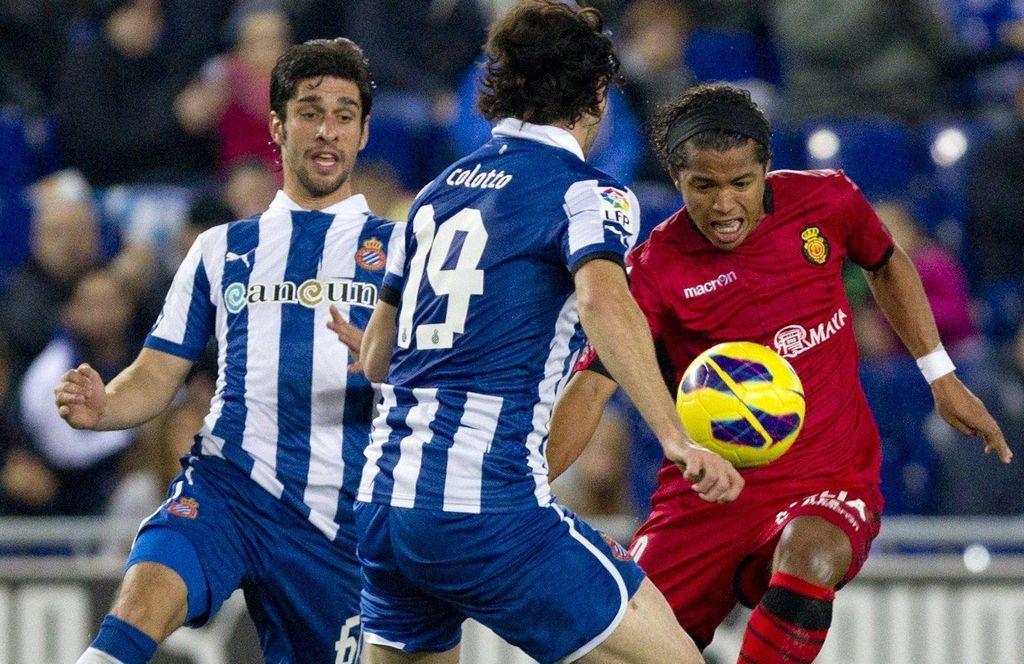 Gio se estrena con Mallorca, pero pierde con Espanyol de Aguirre (Fotos)