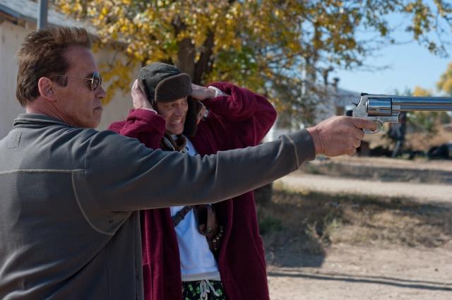 Arnold Schwarzenegger mantiene intacto su carisma en 'The Last Stand'