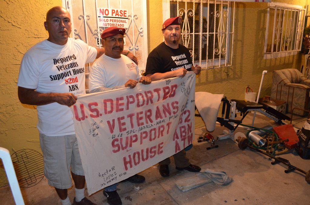 Veteranos hispanos deportados quieren volver a EE.UU. (Video)