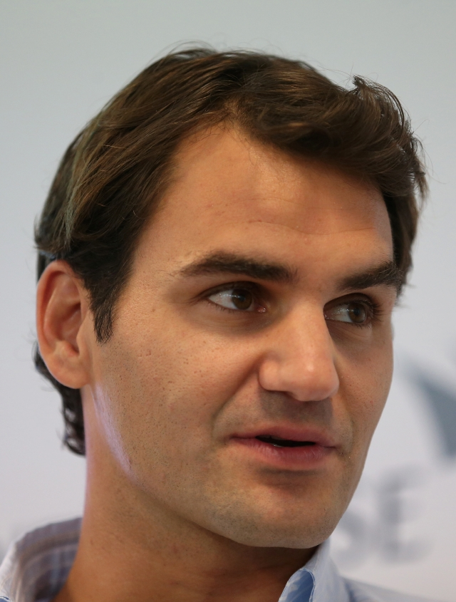Federer  condena a Lance