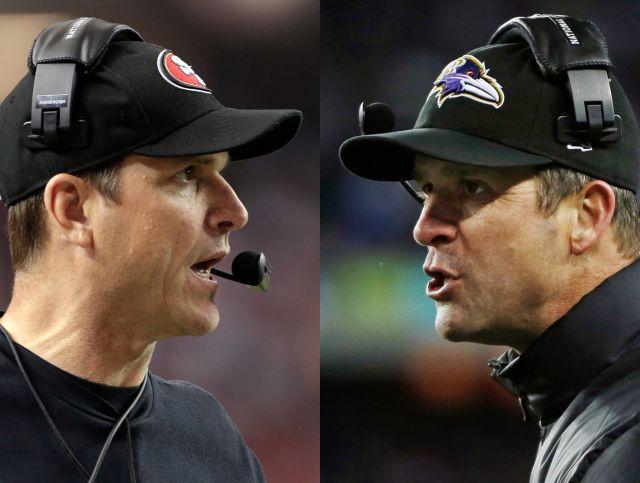 Jim y John Harbaugh: dos hermanos en el Super Bowl