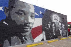 Houston celebró a Luther King y la investidura de Obama
