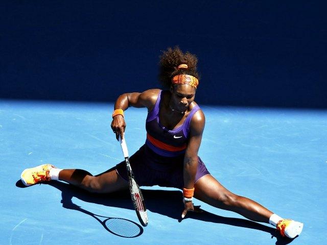 La tenista estadounidense Serena Williams se despidió del primer Grand Slam del año