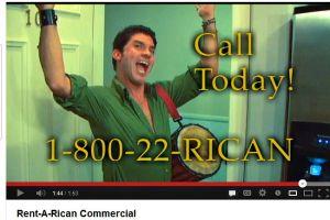 """Opina: ¿Es ofensivo o no el video de """"Rent a Rican""""?"""