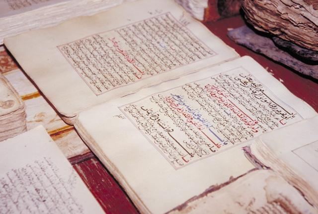 Islamistas en Malí incendian biblioteca