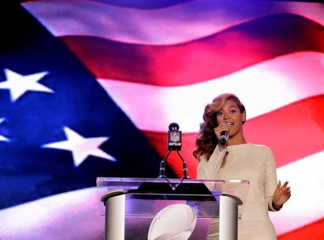 Beyoncé ¡está súper lista para el Super Bowl!