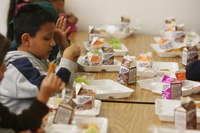 Almuerzos escolares en tiempos de pandemia