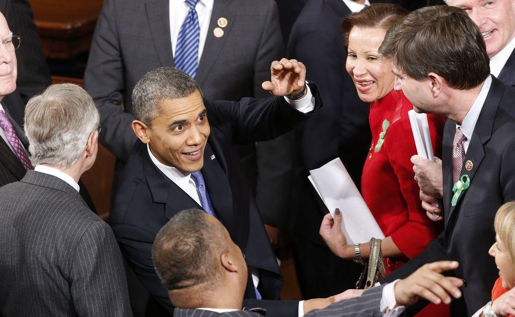 Obama pide subir el salario mínimo federal hasta 9 dólares la hora en 2015, durante su discurso del Estado de la Unión.