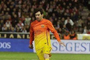 Messi rescata al Barsa y amplía récord (Fotos)