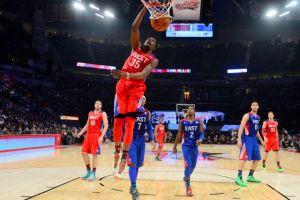 El Oeste opacó al Este en el Juego de Estrellas de la NBA