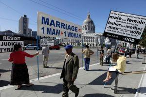 Obama estudia caso de bodas gay en California