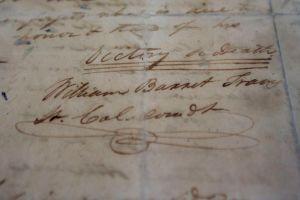 """Carta de """"victoria o muerte"""" regresa a El Alamo"""