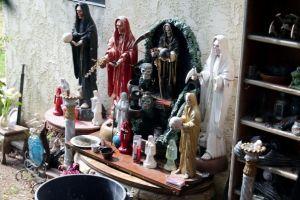 Adoraban a la Santa Muerte
