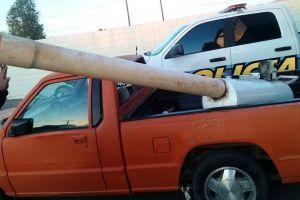 "México: Decomisan ""cañón"" para lanzar droga a EE.UU."