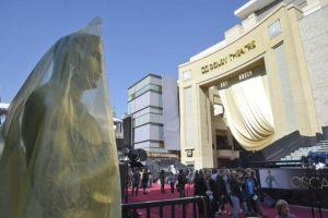 Hollywood con todo listo para los Premios Oscar (fotos y video)